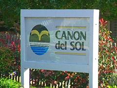 Canon Del Sol